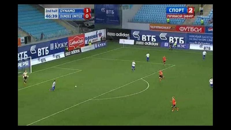 Лига Европы 2012/2013. 3-й кв. раунд. Ответный матч. Динамо - Данди Юнайтед