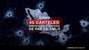 45 cárteles amenazan proceso de paz de AMLO ContralíneaTV