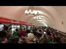 Mexicanos abarrotan el metro de Moscú