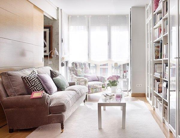 Уютный интерьер маленькой квартиры - 40 кв.м.