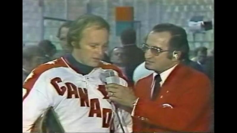 СССР - Канада (Суперсерия 1974 год) Игра 5 (Период 3)
