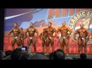 Semifinal bodybuilding up to 90 kg at Arnold Classic Europe 2013. Compulsory poses.