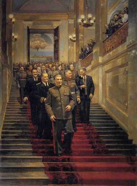 В Кремле, 24 мая 1945 года