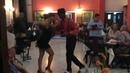 Son Cubano at Cafe Europa, Havana with Felipe and Yunaisy.