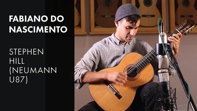(Neumann U87) - Baden Powell Variations - Fabiano do Nascimento plays 2018 Stephen Hill