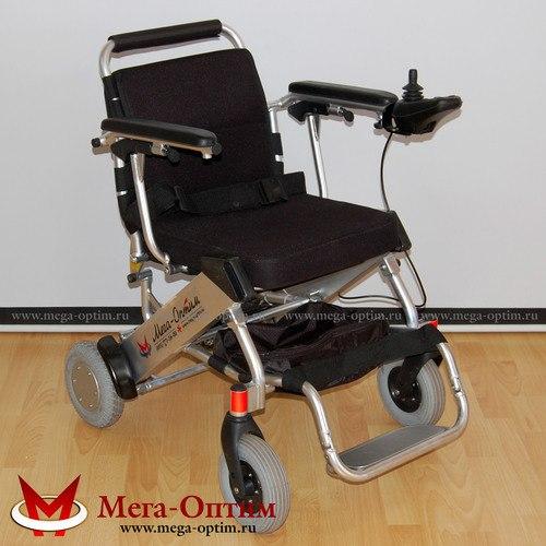 Инвалидная коляска складная с электроприводом LK36B