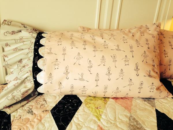 Jillily Studio Twirl Pillowcase Tutorial