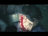 Сцена без цензуры в ремейке Resident Evil 2.