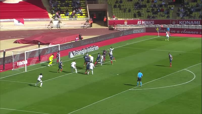 Монако - Кан. AS Monaco - SM Caen ( 0-1 ) - Résumé - (ASM - SMC) 2018-19
