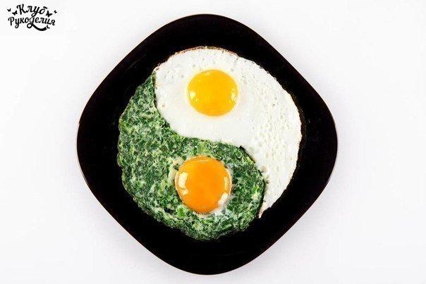 9 интересных способов подать яичницу (9 фото) - картинка