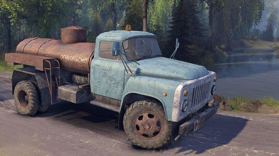GAZ-53 для Spintires - Скриншот 3