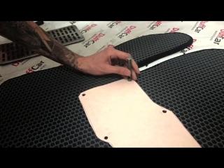 Как установить подпятник на коврик EVA 🔥