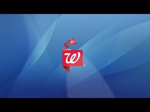 1140-Walgreens Pharmacy Store Chain Spoof Pixar Lamps Luxo Jr Logo