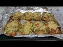 Куриные отбивные с помидорами зеленым луком укропом перцем сыром Tovuqli SHUBA taomi tovuq filesidan