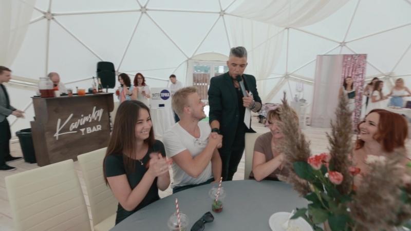 Summer wedding show вечеринка для молодоженов от свадебной студии Lucky Life