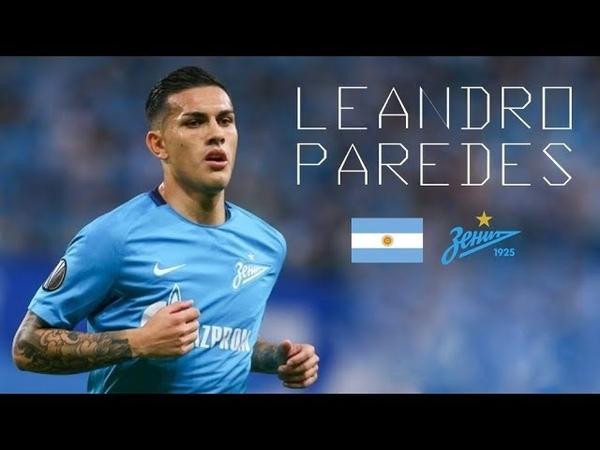 LEANDRO PAREDES - Genius Passes, Skills, Goals, Assists - FK Zenit - 20172018