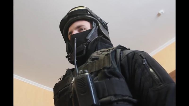 СОБР на задержании беглого Дагестанца оперативная съёмка