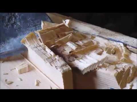 Юшкозерские ремёсла Veneh калевальская лодка Часть1