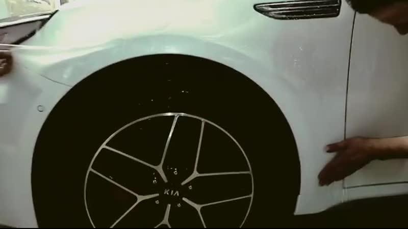 Kia Optima GT Защита кузова антигравийной плёнкой