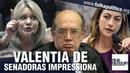 URGENTE Senadoras do partido de Bolsonaro defendem CPI Lava Toga e Kajuru STF Gilmar Mendes