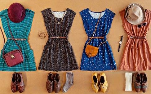 Сшить летнее платье видео