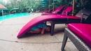 Наш день в отеле Шератон Купаемся и ныряем в бассейне Павлины Сауна