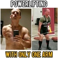 POWERLIFTING LEGENDS on Instagram @1armlifts kicking ass with only one arm