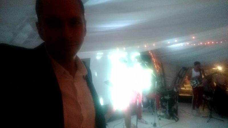 Звук для свадьбы в шатре стрелкового клуба на Мамаевом кургане, работа в паре с ведущим Андреем Яндиевым.