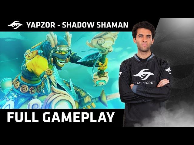 Dota 2 | Team Secret™ - YapzOr Plays Shadow Shaman | Ranked MMR Gameplay