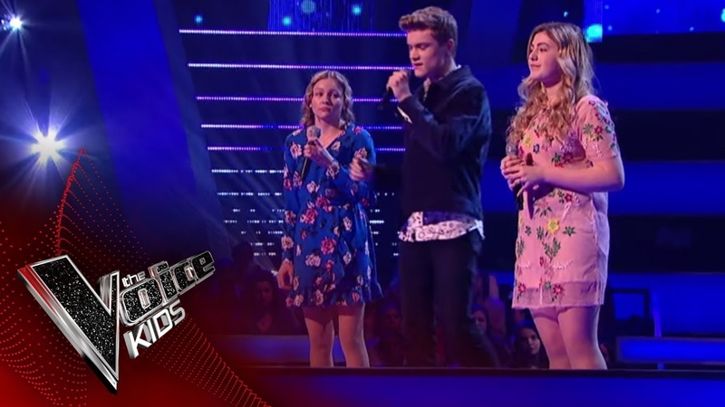 Holly, Lauren-Mia and Will perform God Only Knows Battles 2 | The Voice Kids UK 2018