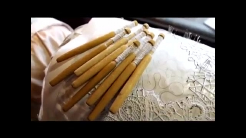 История кружевоплетения Мастера Деревни Верхние Мандроги