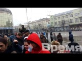 Геи в России не пройдут!!! Ура! В Воронеже геям достойный отпор!