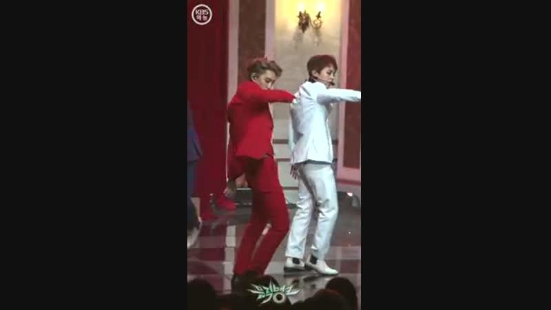 181214 Music Bank LOVE SHOT Ind Fancam