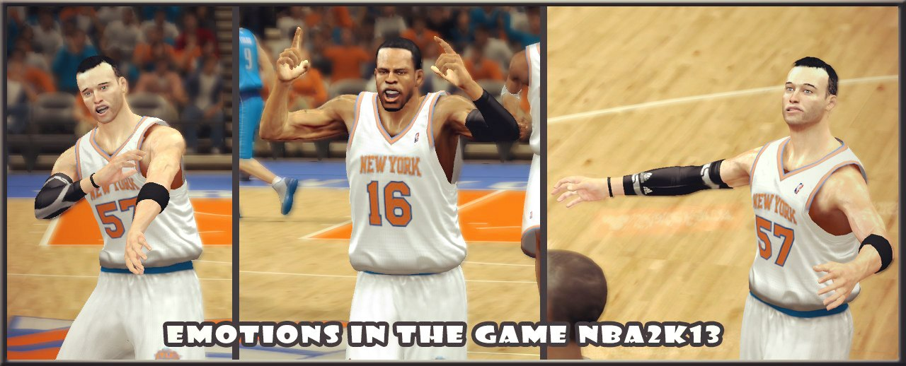 EMOTIONS IN THE GAME NBA2K13