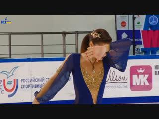 Анастасия Гулякова - ПП - 3-й этап Кубка России Рoстелекoм 2018/2019, MС