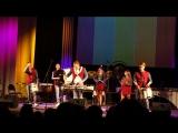 Гала-концерт XV Международного фестиваля Барабаны Мира.ШОУ Барабанщиков Чувство Ритма .№4- латино