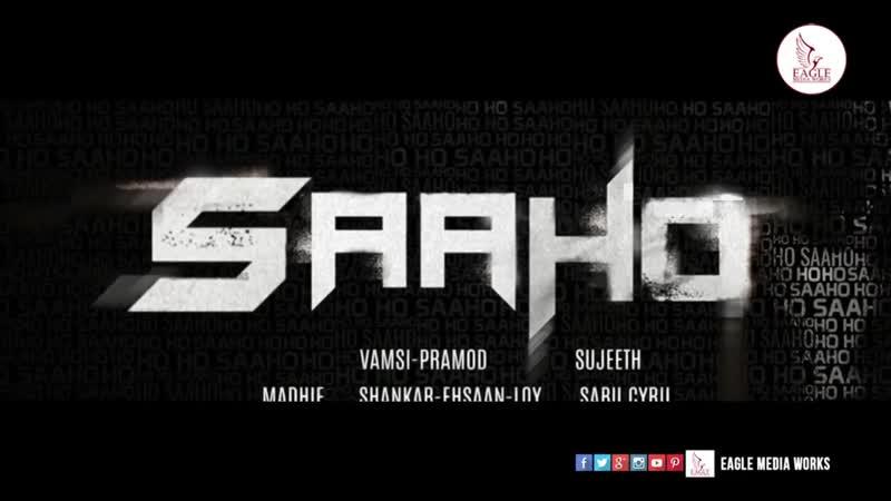 Prabhas SAAHO Title Song _ Nippulanti Manishi Saaho Song _ Uv Creations Fanmade