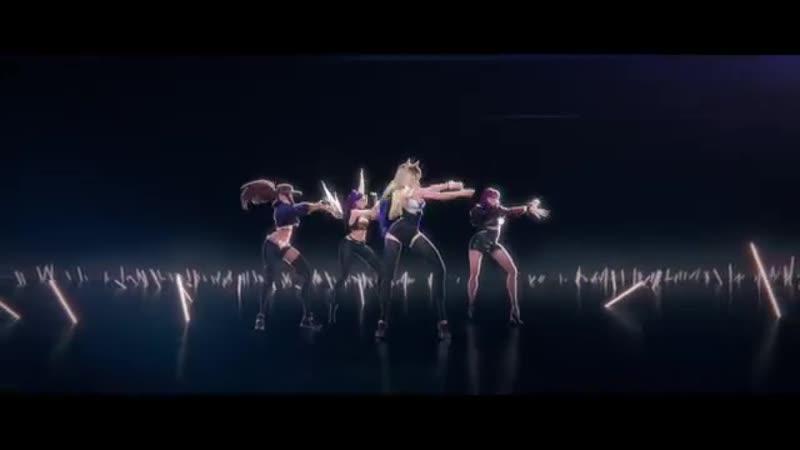 K_DA - POP_STARS (ft Madison Beer, (G)I-DLE, Jaira Burns) _ Official Music Video