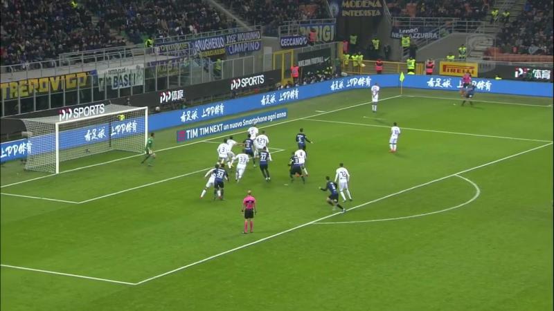 Inter 2:0 Atalanta 19.11.2017