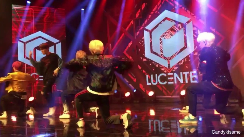 180918 LUCENTE (루첸트) Debut Showcase ANSWER