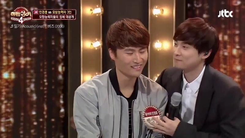 [ENG] Min Kyunghoon on Hidden Singer pt. 3