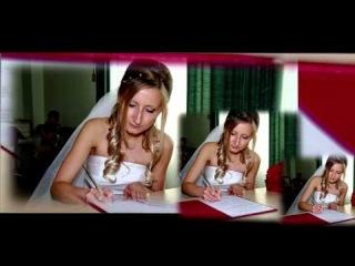 Красивое свадебное слайд шоу фото клип