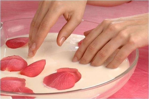 Ванночки и маски для ногтей в домашних условиях