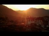 Лето в Горной Олимпийской деревне на Роза Хутор