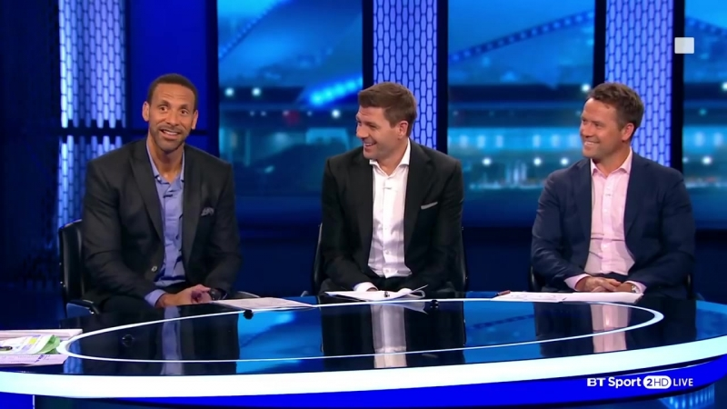 Who are the favourites for the Champions League Rio, Gerrard, and Owen discuss