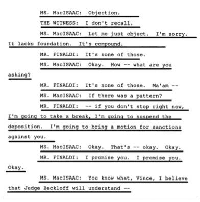 Показания Йоши Уейли, сына Джоли Левин (секретарь MJ)., изображение №33