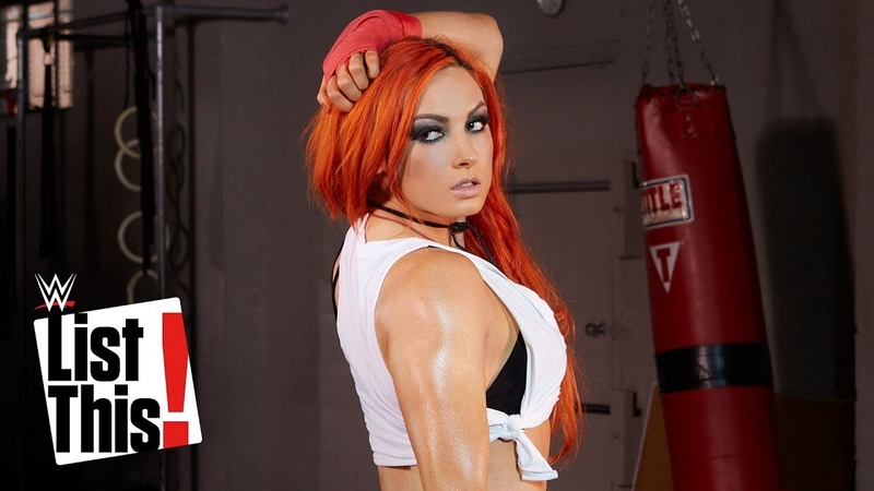 5 things you need to know about Becky Lynch WWE List This