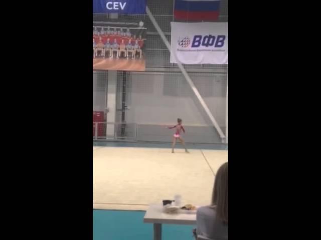 Daria Sergaeva/ Дария Сергаева clubs/булавы 2014