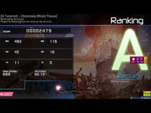 FLYINGTUNA BEATS THE AKATSUKI RECORD BY OVER 1K PP - 2497PP CHRONOXIA HDDTHR