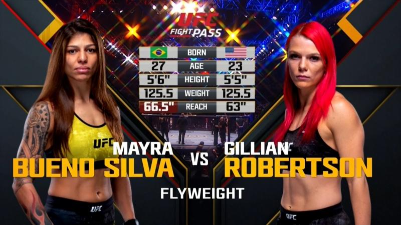 UFC_FN_137 Mayra Bueno Silva vs. Gillian Robertson